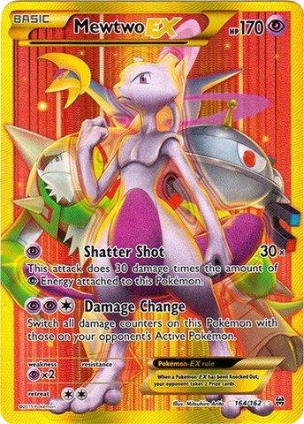 Pokemon - Mewtwo-EX (164/162) - XY Breakthrough - Holo