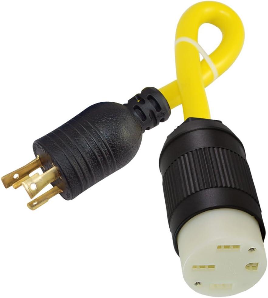 Max 71% OFF Conntek 30A 125-Volt Locking Plug L5-30P Vehi to Electric NEW 50-Amp