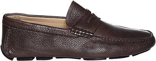 BRECOS chaussures Mocassino hommes 7878 Cervo Cervo Taupe PE18  direct usine