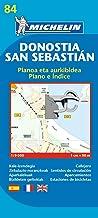 Plano Plegable Donostia-San Sebastián: plano e indice (Planos Michelin)