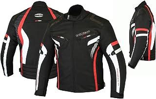 MBSmoto MJ22 Max Motorcycle Motorbike Short Textile Chaqueta