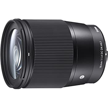 SIGMA 16mm F1.4 DC DN | Contemporary C017 | Sony Eマウント | APS-C/Super35 ミラーレス専用