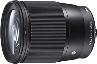 Sigma 16mm F/1.4 DC DN Contemporary Lens for Sony E (402965)
