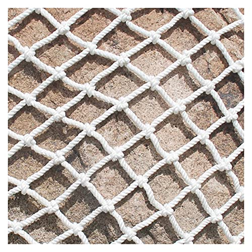 ZWYSL Red Seguridad para Niños Escaleras Balcón Protector Barandilla Juguetes para Mascotas Resistente Caída, 25 Tamaños Color : 10cm Mesh, Size : 2X2M(6.6X6.6FT)