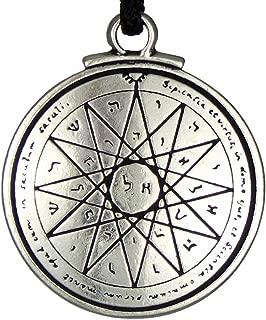 Talisman of Wisdom Key of Solomon Pentacle Seal Pendant Hermetic Enochian Kabbalah Pagan Wiccan Jewelry