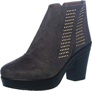 Cleo by Khadim's Women Grey Lifestyle Dress Boot