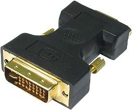 DVI (macho) a VGA (hembra) Adaptador - 24k chapado