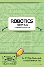 ROBOTICS TECHNICAL JOURNAL NOTEBOOK - for STEM Students & Robotics Enthusiasts: Build Ideas, Code Plans, Parts List, Troubleshooting Notes, Competition Results, Meeting Minutes, GREEN PASTEL DO PLAIN1