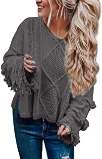Best fringe shaggy sweater Reviews
