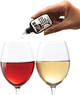 Best Drop It Wine Drops, 1 Pack – Natural Wine Sulfite Remover and Wine Tannin Remover – Enjoy Wine Again, Works in Just 20 Seconds – Portable and Discreet – A Wine Filter or Wand Alternative Review