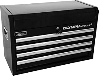 Olympia Tools 87-264 4-Drawer Tool Chest, 26-Inch, Black
