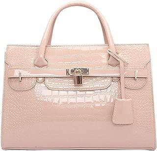 Handbags Durable Crocodile Pattern Platinum Bag Fashion Handbags Handbags Female Lock Bag