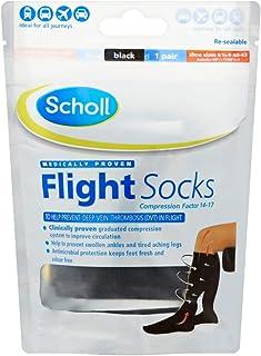 Scholl Cotton Feel Flight Socks, Size 6.5-9