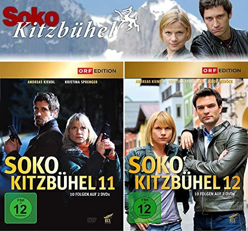 SOKO Kitzbühel - Box 11+12 (4 DVDs)