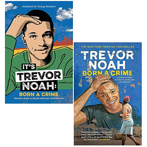 Trevor Noah Collection 2 Books Set (Its Trevor Noah, Born A Crime)