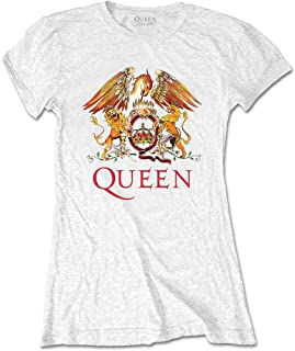 QUEEN クイーン (ボヘミアン・ラプソディ公開記念) - CLASSIC CREST/Tシャツ/レディース 【公式/オフィシャル】