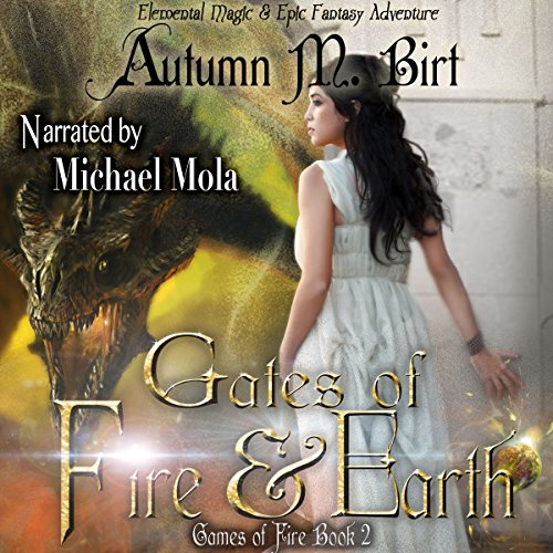 Gates of Fire & Earth audiobook cover art