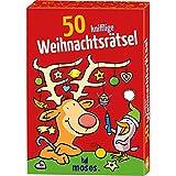 Moses 21051 Nein 50 knifflige Weihnachtsrätsel | Kinderbeschäftigung ab 6...