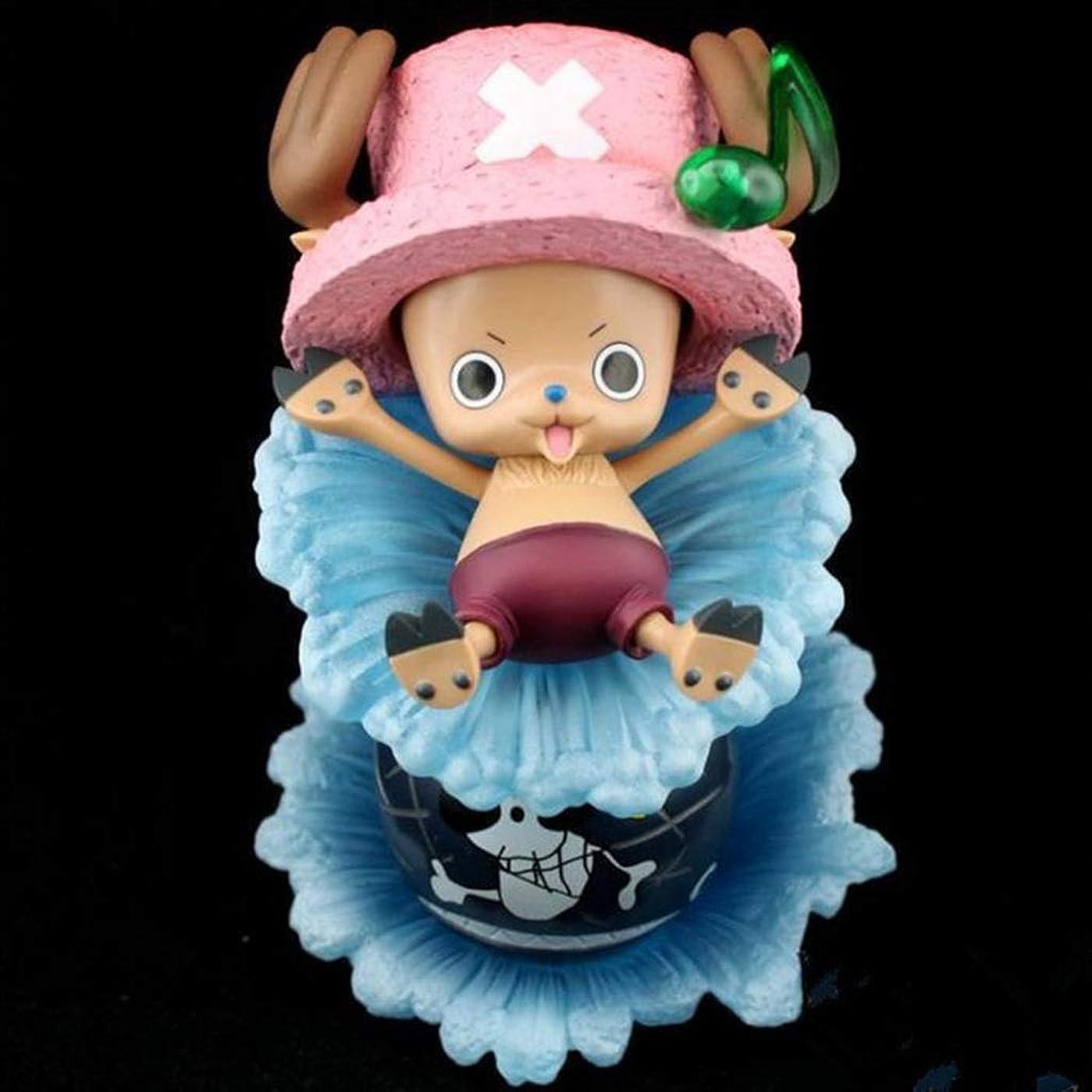 魅了するフィードオン一元化するSGチョバ、アニメワンピースモデル、子供のおもちゃコレクション像、卓上装飾玩具像玩具モデルPVC(16cm) SHWSM