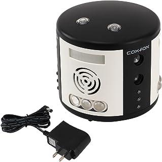 coxfox(コックスフォックス) ラットガード360 ネズミ駆除器 【殺さず撃退】超音波式 LEDフラッシュライト コンセント式 GR-24