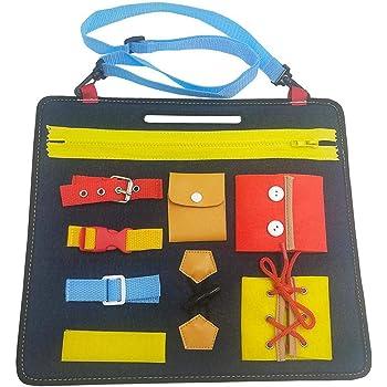 Wood.L Montessori Aprender A Vestir Las Tablas De Aprendizaje ...