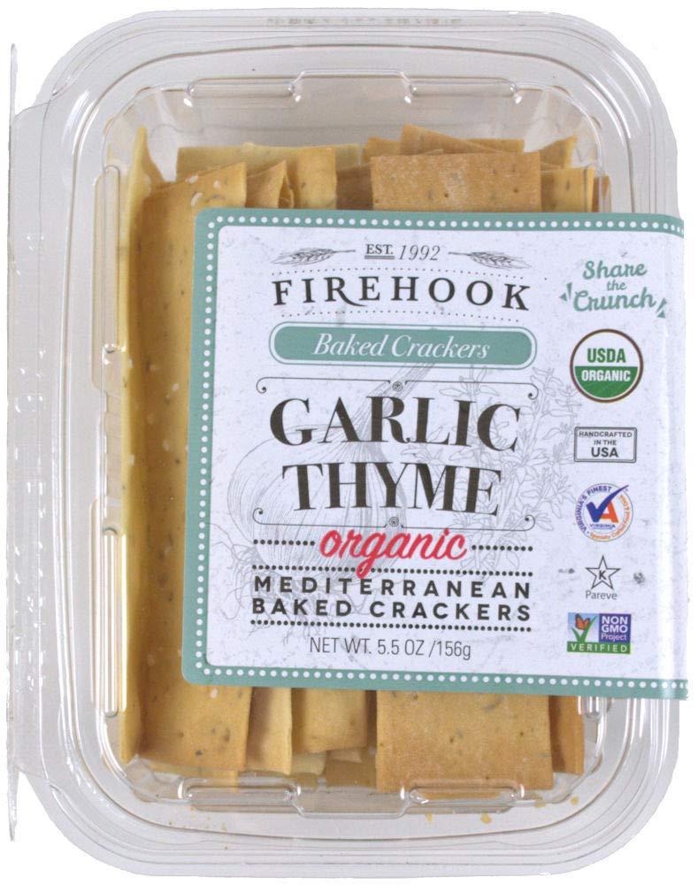 Firehook Garlic Finally resale start Thyme Mediterranean Mesa Mall pack 4 Crackers