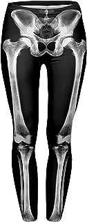 Best bone print leggings Reviews