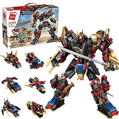 QLT STEM Building Toys,908 PCS Robot STEM Toys ...