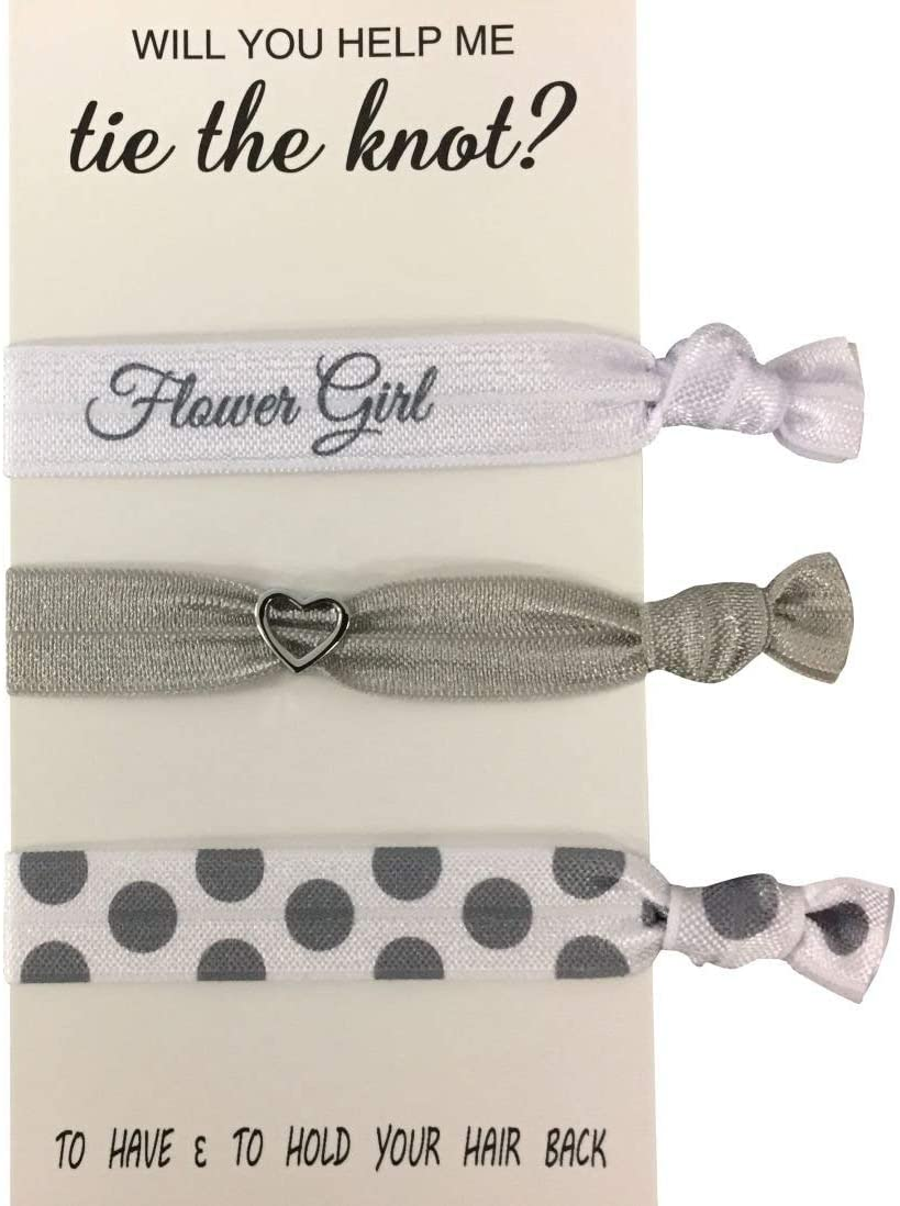 San Diego Mall Flower Girl Gift Hair Ties Jewelry Super sale Acce Bridesmaid