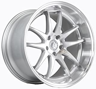 AodHan DS02 Wheel - Silver w/Machined Face: 19x11 Wheel Size; 5x114.3 Lug Pattern; 73.1mm Hug Bore; 15mm Off Set.