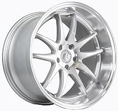 AodHan DS02 Wheel - Silver w/Machined Face: 18x10.5 Wheel Size; 5x114.3 Lug Pattern; 73.1mm Hug Bore; 15mm Off Set.