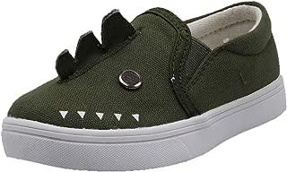Dream Seek Girls Toddler 9332 Slip on Boys Fashion Sneaker