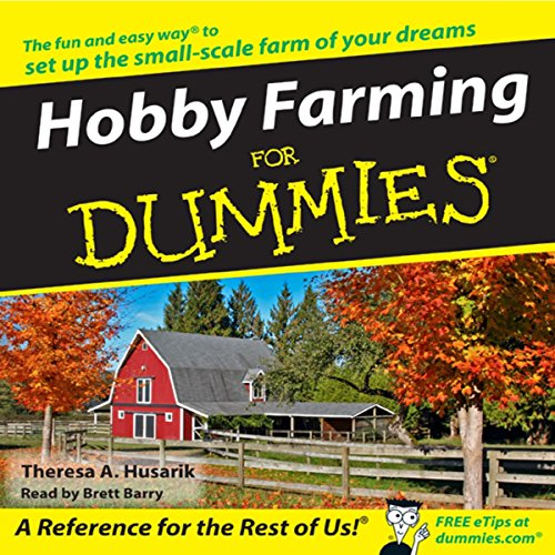 Hobby Farming for Dummies audiobook cover art