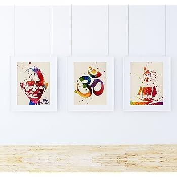 Pack de láminas para enmarcar MEDITACION. Posters Estilo Acuarela ...
