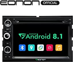 Double Din Car Android Auto Head Unit Eonon Android 8.1 Car Stereo Car Radio with Bluetooth 7 Inch Applicable with F150 2005,2006,2007 and 2008 in Dash Touch Screen Support WiFi-GA9173K