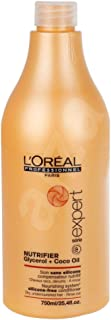L'Oreal Paris Professionnel Serie Expert Nutrifier Glycerol + Coco Oil Nourishing System Silicone Free Conditioner, 750 ml
