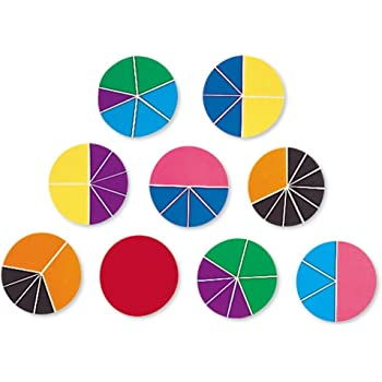 Didax Educational Resources Fraction Circles 2-496