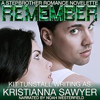 Remember: A Stepbrother Romance Novelette audiobook cover art