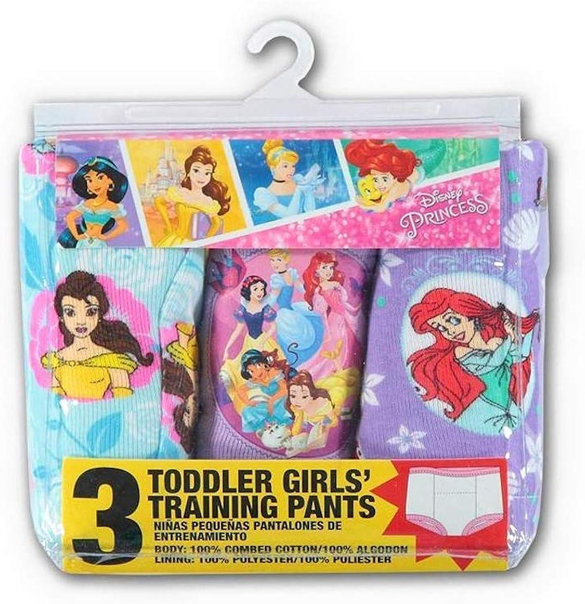 Girls Disney Princess Potty Training Pants 3 Pack Size 2T
