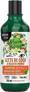 Shampoo Uso Diário 350ml Maria Natureza Leite de Coco Unit, Salon Line