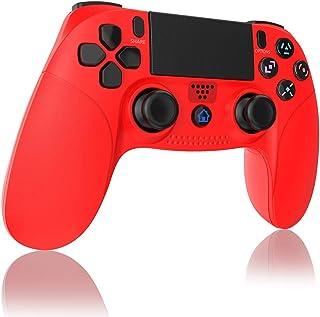 TUTUO Mando para PS4, Inalámbrico Gamepad Wireless Bluetooth Controlador Controller Joystick con Vibración Doble Remoto Co...