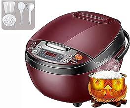 Rijstkoker (4L) huishoudelijke multifunctionele rijstkoker, niet-Stick binnenpot, reservering en warmtebehoud, voor 2-6 pe...