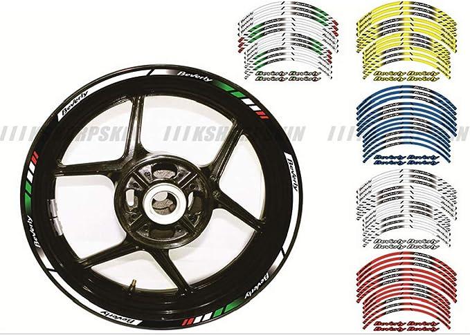 64pcs Bulk Car Bike Motorbike Wheel Stickers Trim Tape Stripes Decal Reflective