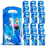 BESTZY 50pcs Frozen Candy Treat Bags Compleanno Party Supplies Goodie Party Bomboniere Borse Baby Shower Dessert per Bambini