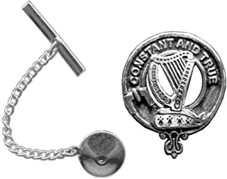 Rose Scottish Clan Crest Tie Tack/Lapel Pin
