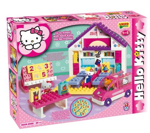 Unico Costruzione Hello Kitty-Scuola 89pz 8668