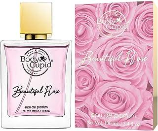 Body Cupid Beautiful Rose Perfume for Women - Eau de Parfum - 100 mL