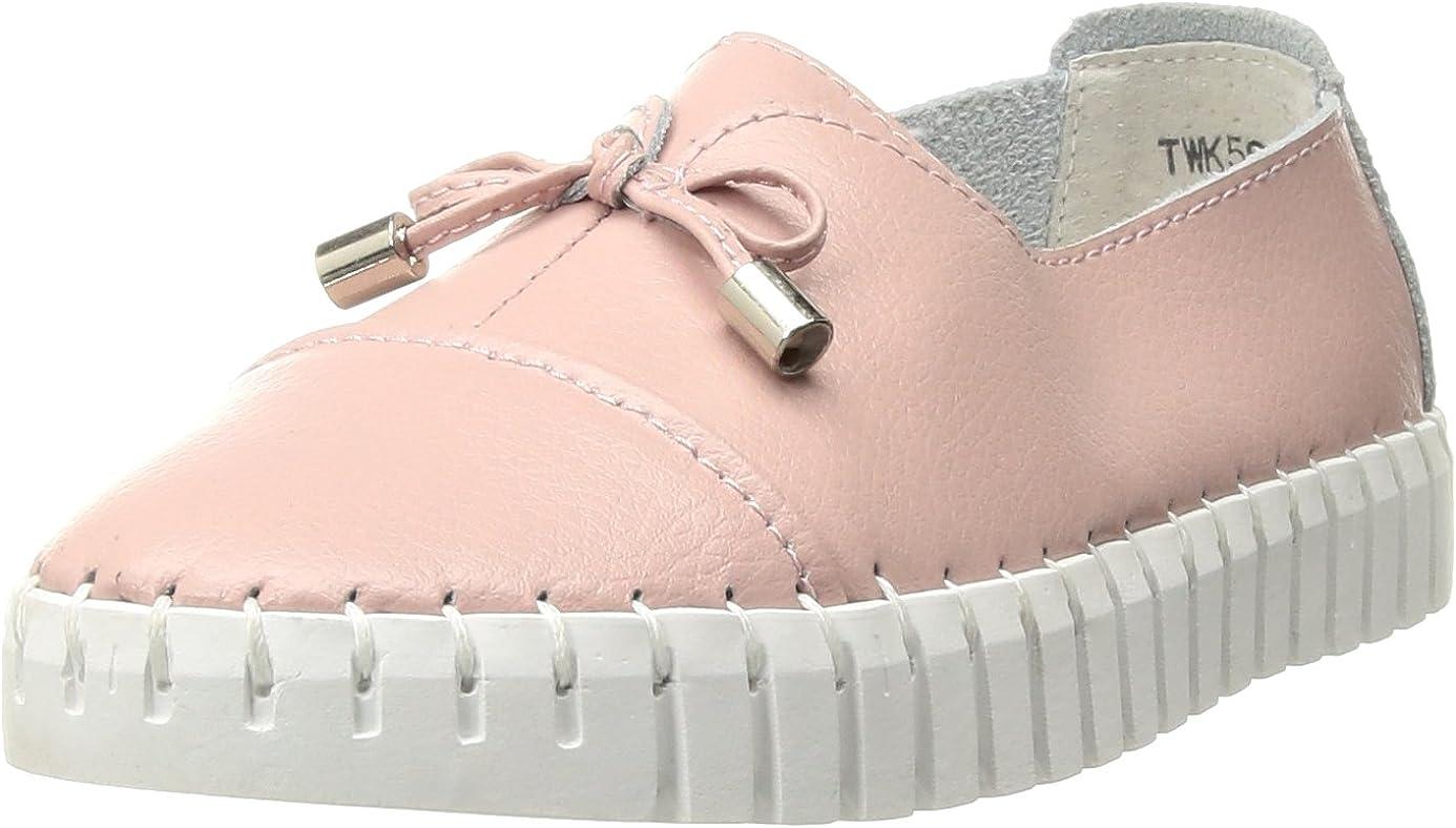 Bernie Mev Girls' TWK50 Loafer Pink Finally popular brand 28-35 M 33 Big U Kid EU Japan's largest assortment