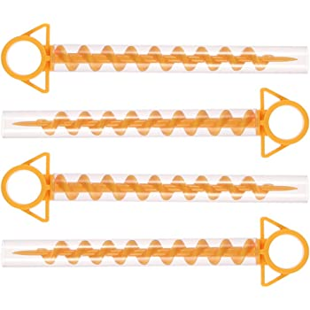 N\A 10 Pcs Camping Tent Peg Plastic Camping Stakes Peg for Pitching Camping Tent Canopies