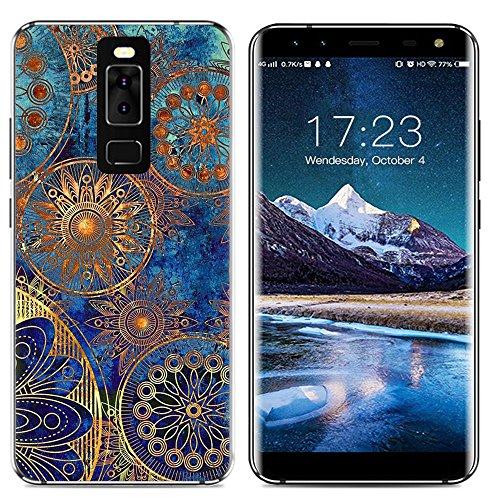 Easbuy Handy Hülle Soft Silikon Hülle Etui Tasche für Leagoo S8 Smartphone Cover Handytasche Handyhülle Schutzhülle
